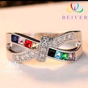 Jewelry - Rainbow princess ring